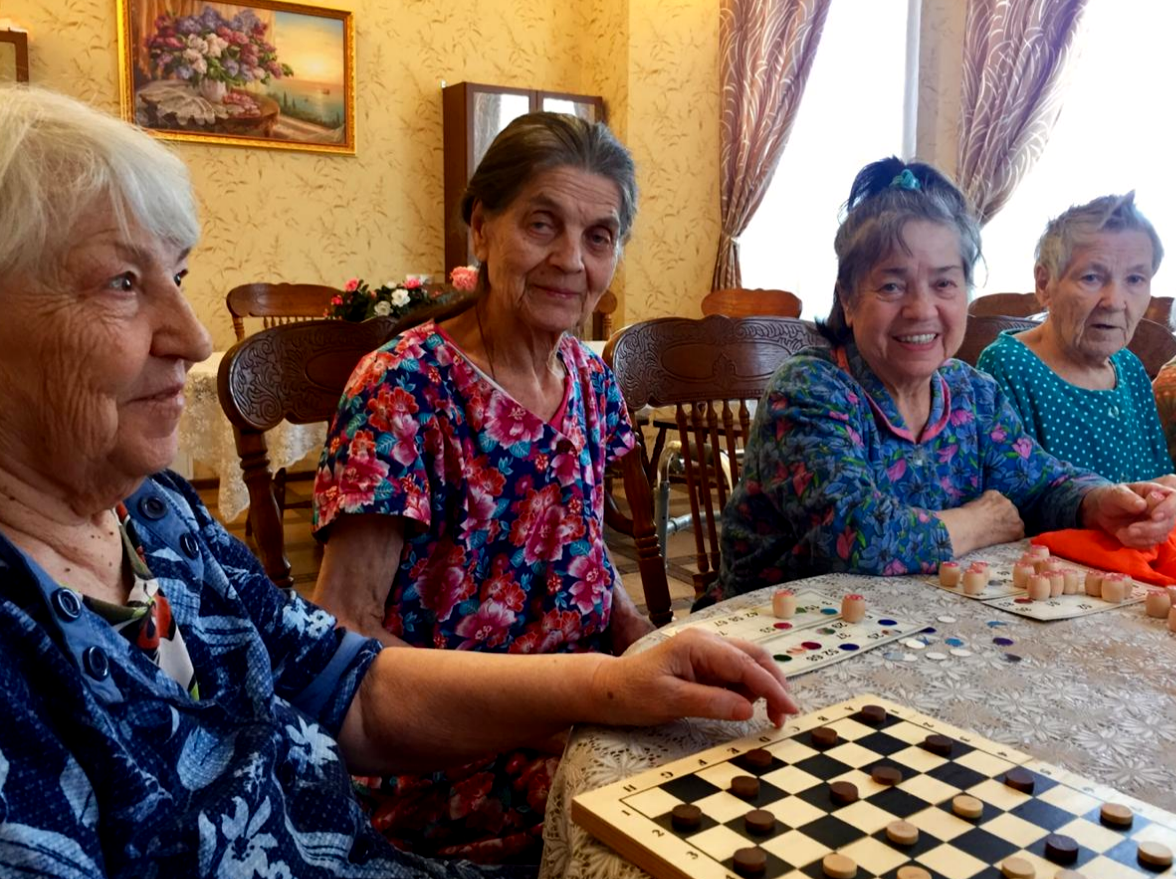 Пансионат для людей с деменцией в спб интернат для пожилых людей в ростове на дону