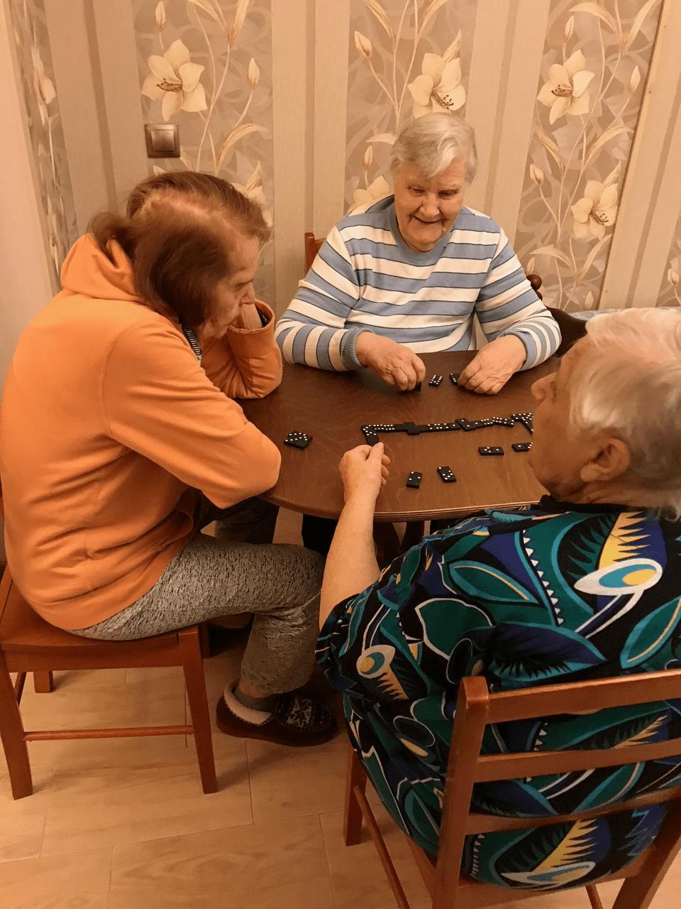 Пансионат для больных с деменцией в спб частный дом престарелых в ленобласти