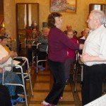 Танцы в нашем пансионате!