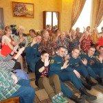 Праздник Великой Победы вместе с курсантами МЧС России!